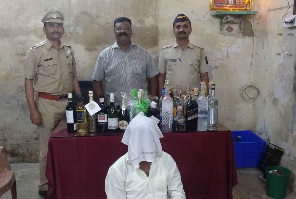 liquor seized by police in mumbai