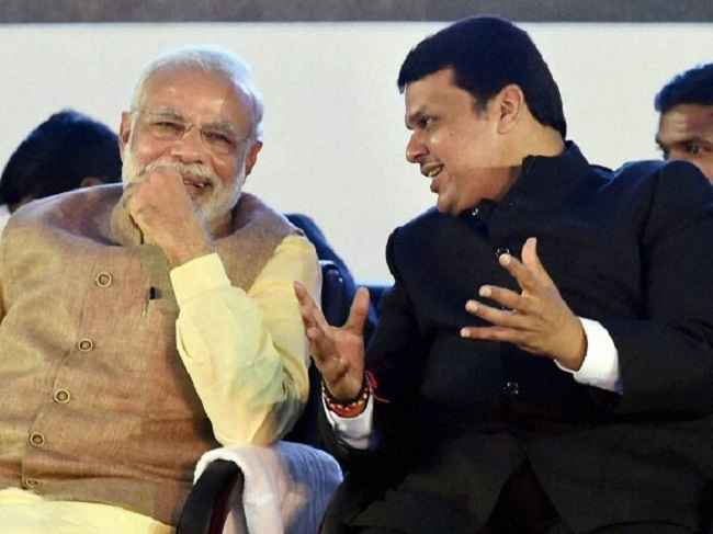 narendra modi and devendra fadnavis