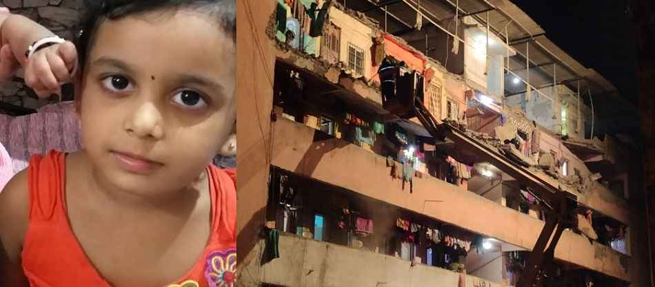 An illegal building collapse in Virar 123