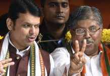 Devendra Fadnavis and Chandrakant patil