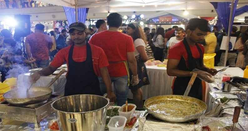 momo and maggie festival in thane korum mall