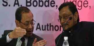 Ranjan Gogoi recommended for second senior most judge Justice S A Bobde as the next Chief Justice of India