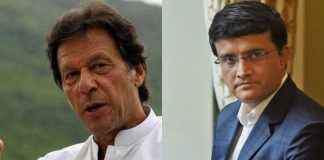 Sourav Ganguly compares with Imran Khan