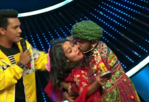 indian idol season 11 contestant kiss neha kakkar watch video