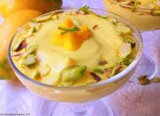 mango shrikhand recipe at home