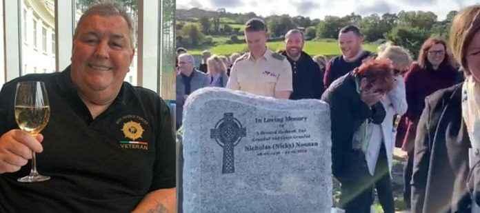 irish grandfather pulls viral prank at own funeral viral video