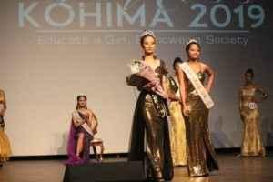 miss kohima 2019 second runner up vikuonuo sachu asked question on pm modi 12