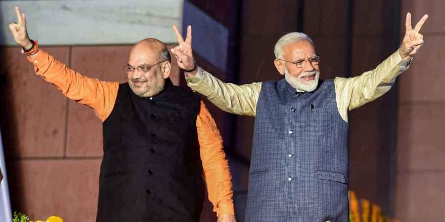 narendra modi and amit shah