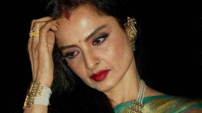 Bollywood actress Rekha