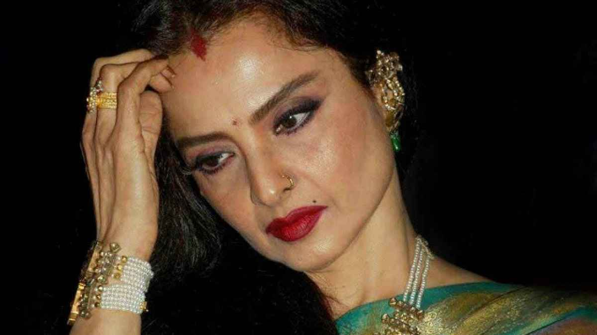 Bollywood actress Rekha