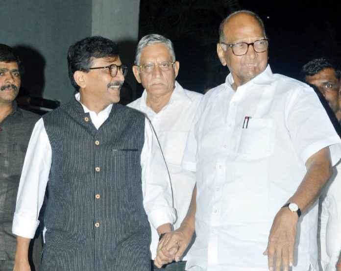 sharad pawar and sanjay raut
