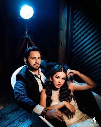bold photo shoot of siddharth chandekar and mitali mayekar