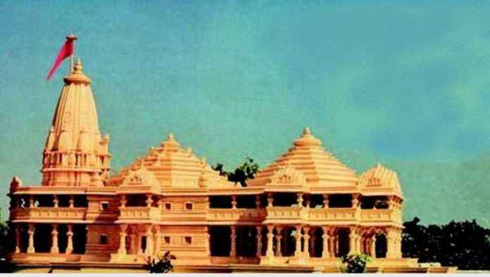 ayodhya verdict case ram mandir whole structure in ayodhya