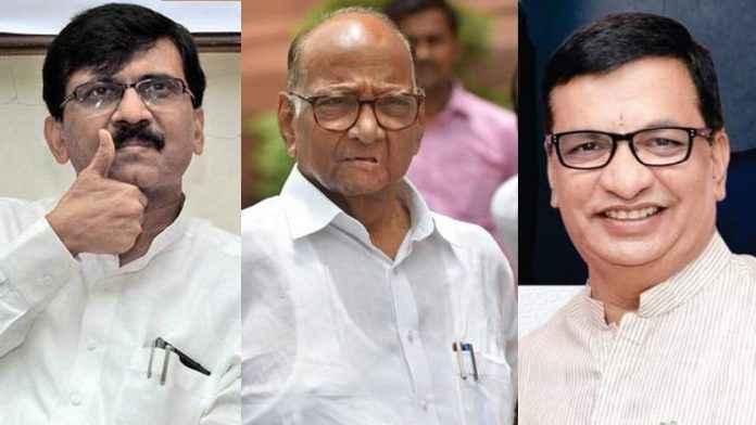 congress big leaders meet ncp leader sharad pawar