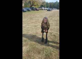 optical illusion little girl