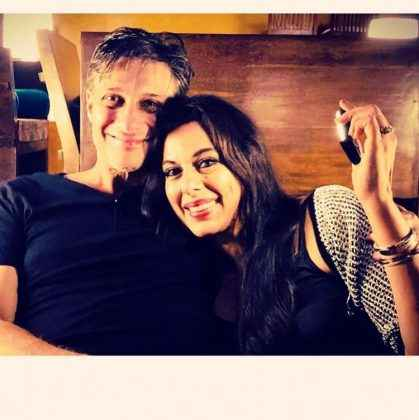 pooja bedi and maneck contractor enjoying vaction in goa