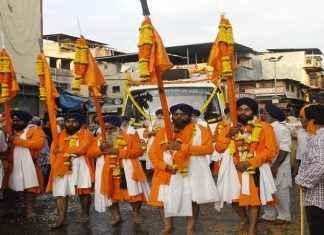 Sikh community organized rally in Thane