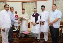 NCP leaders meet governor