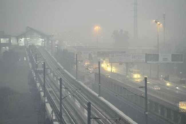 Pollution in Delhi