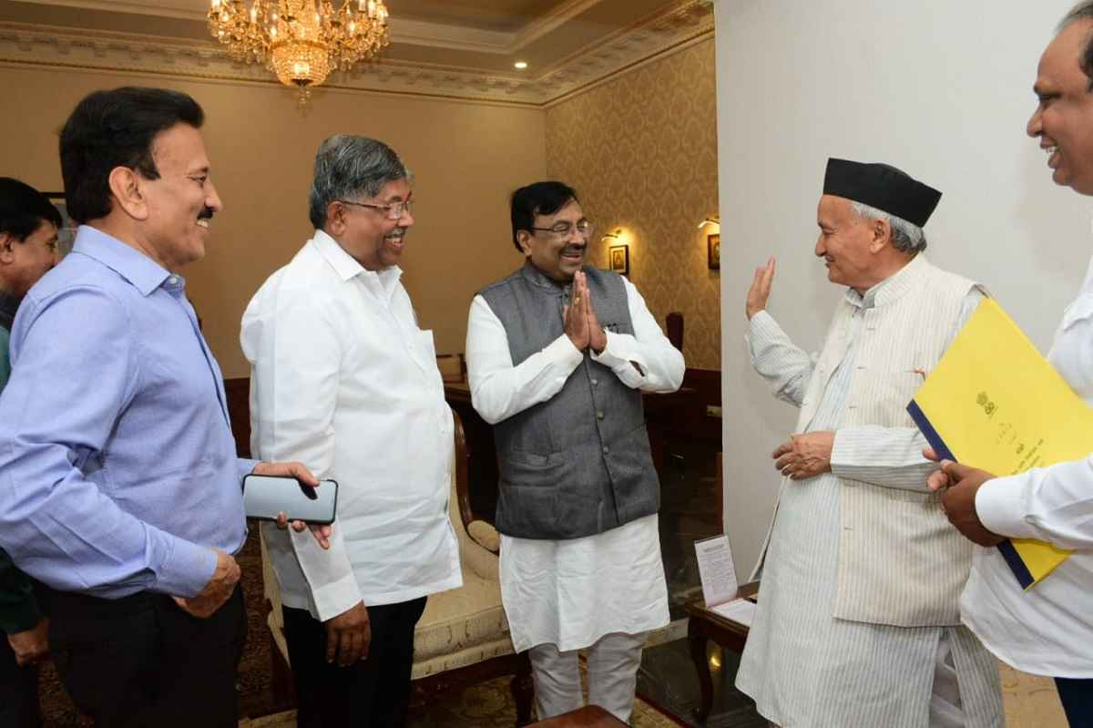 BJP does not claim to establish power today says chandrakant patil