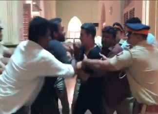 karan johar reaction on akshay kumar and rohit shetty fighting video viral