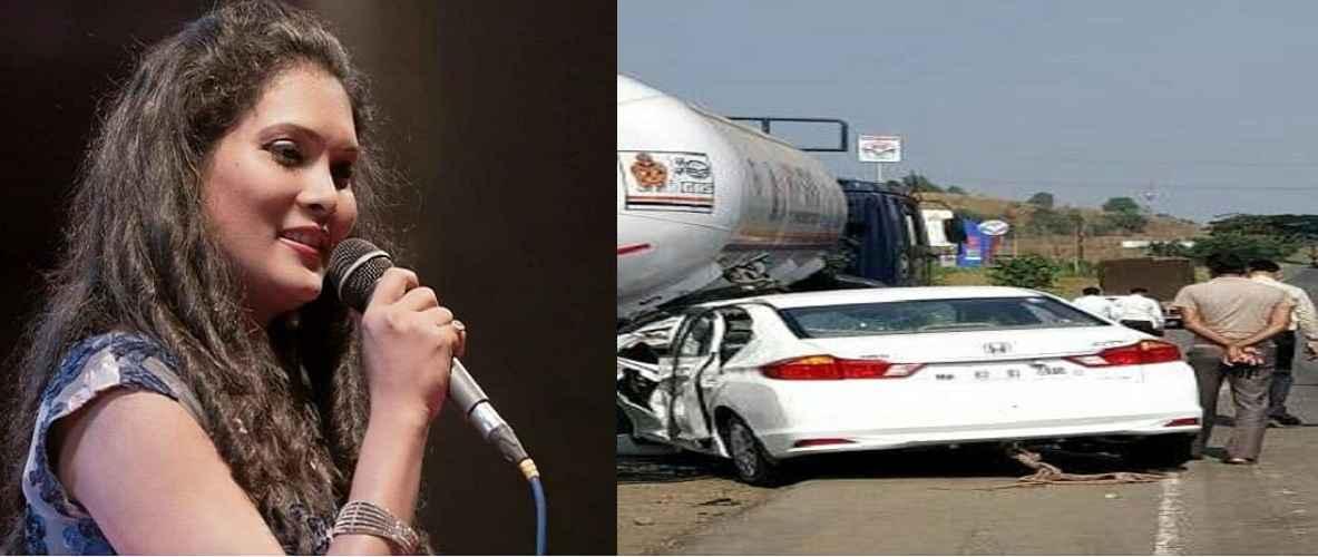 singer geeta mali car accident at shahapur in mumbai nashik expressway