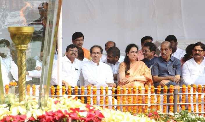 balasaheb thackeray death anniversary at shivaji park