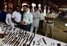 Rare weapons, coins treasure exibition organise at Nashik