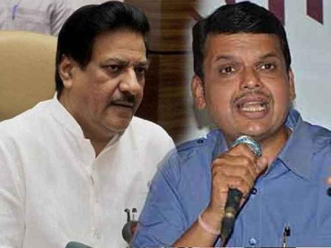 Prithviraj Chavan alleges Fadnavis speak lie on SECC data errors