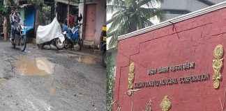 corporators aggressive on pothole issue in kalyan