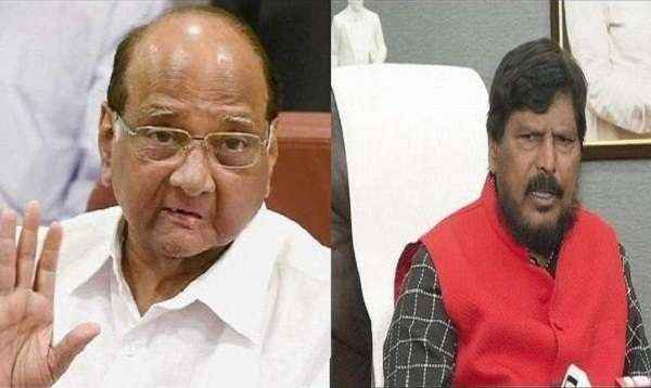 ramdas athawale and sharad pawar