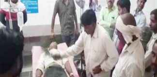 witchcraft performed on snakebite patient in mMadhya Pradesh government hospital