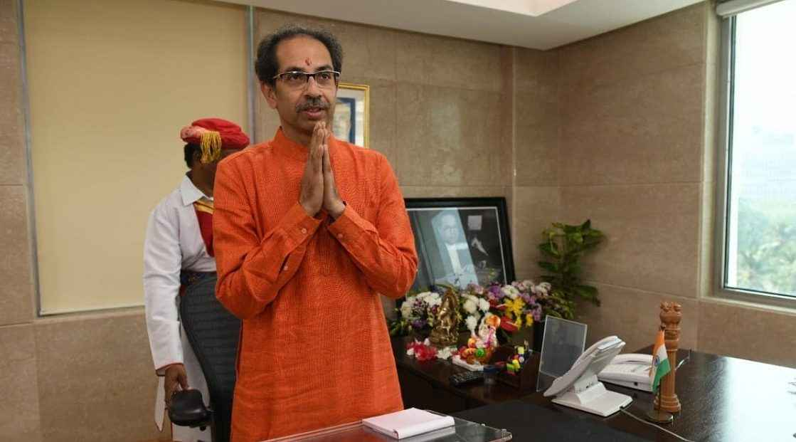 uddhav thackeray took charge as chief minister of maharashtra ३