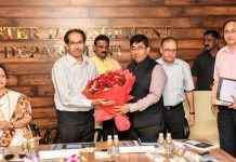 cm uddhav thackeray visit to bmc head office
