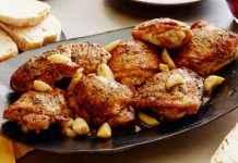 garlic chicken non vegetarian recipes