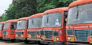 Kolhapur and Karnataka bus services canceled
