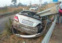 6 injured in mumbai pune expressway accident