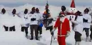 Jawans celebrate Christmas festival on Kashmir's Line of Control; Video viral!