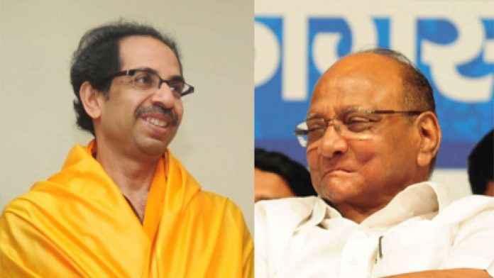 Uddhav Thackeray and Sharad Pawar