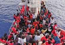 boat sank in Atlantic ocean 58 people death