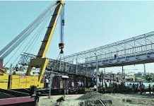 bridge project cost increse due to railway