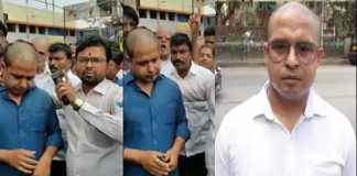 youth beaten by shiv sena workders