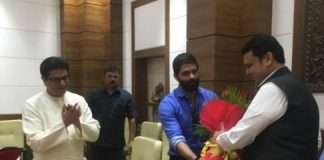 mns leader raj thackeray meets devendra fadnavis