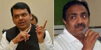 Devendra Fadnavis and Jayant Patil