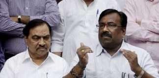 Eknath Khadse and Sudhir Mungantiwar