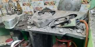 three injured gas blast in pune