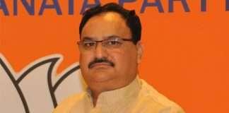 J P Nadda, President of BJP