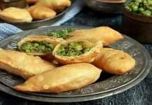 special recipe for winter season- matar karanji