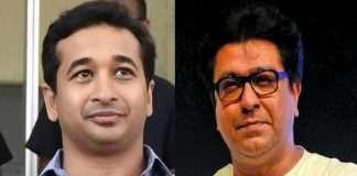 Nitesh Rane and Raj Thackeray