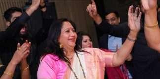 marathi actress alka kubal athalye daughter roka ceremony